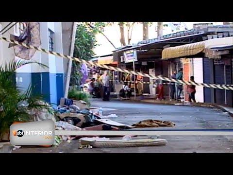 Morador de rua é agredido a pauladas e facadas em Prudente