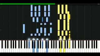Cher - I found someone [Piano Tutorial] Synthesia | passkeypiano