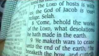Psalm 46 King James Holy Bible