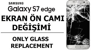 Samsung S7 Edge Glass replacement - LCD Seperator with Frozen