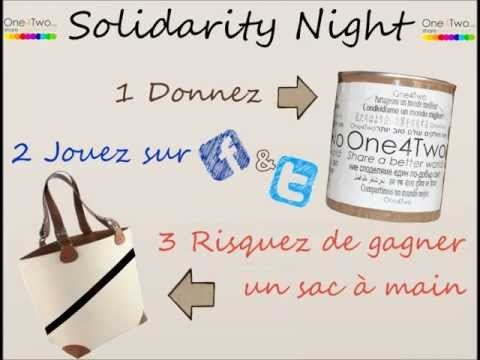 One4Two - Solidarity Night au Jazz Rock Café - 1 .wmv