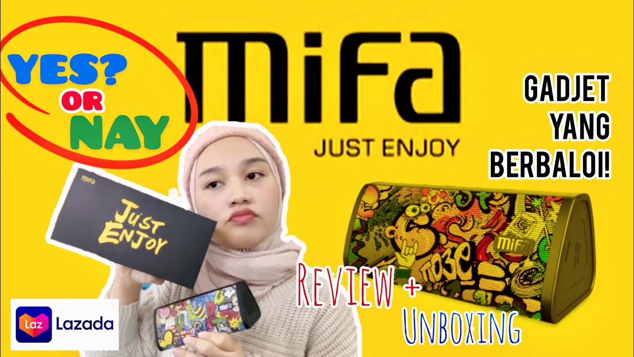 NEW TOY! MIFA A10 SPEAKER ? Unbox/Tutorial Use/ MALAYSIAN REVIEW