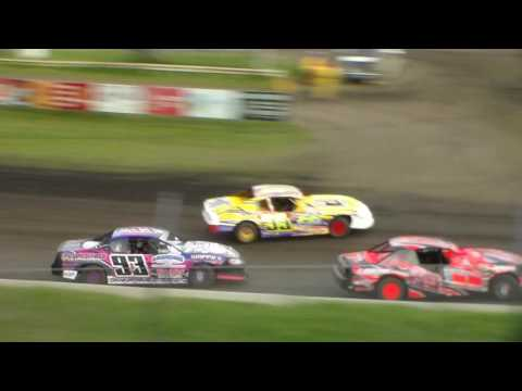 Stock Car Heat 4 @ Hamilton County Speedway 05/09/17