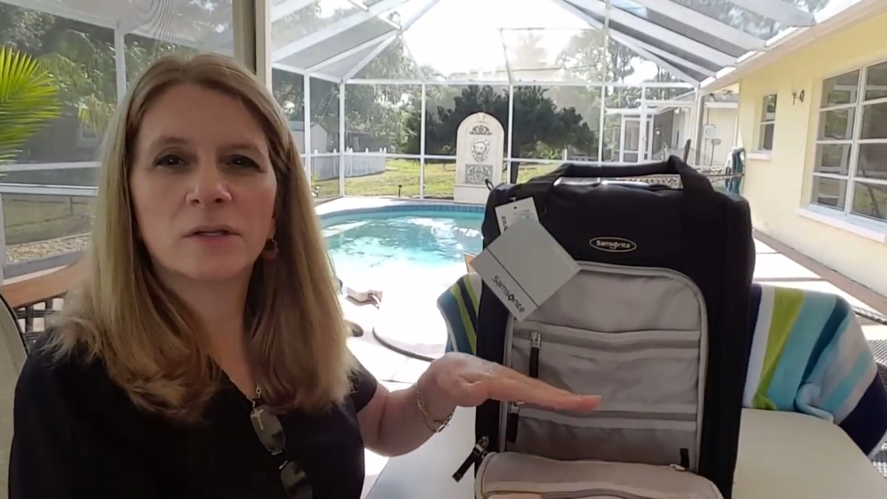 9541a4a39a361 Samsonite Carry On Luggage Unboxing   Review - YouTube