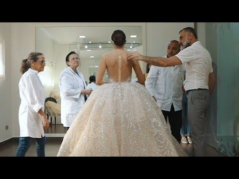 Follow This Bride Inside Her Final Dress Fitting Until Her Epic Wedding Party !