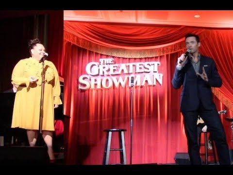 Hugh Jackman and Keala Settle At 'THE GREATEST SHOWMAN' Special Event | Listening Party