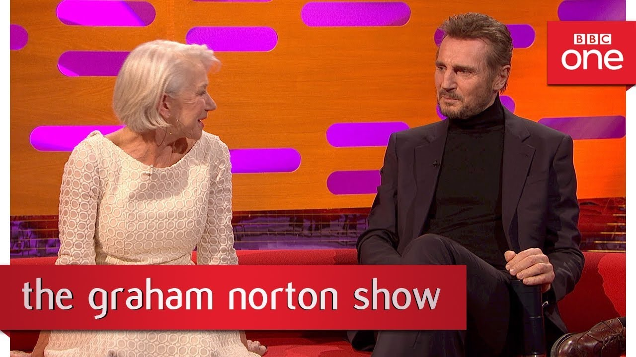 Helen Mirren Fakes intended for helen mirren and liam neeson were once an item - the graham norton