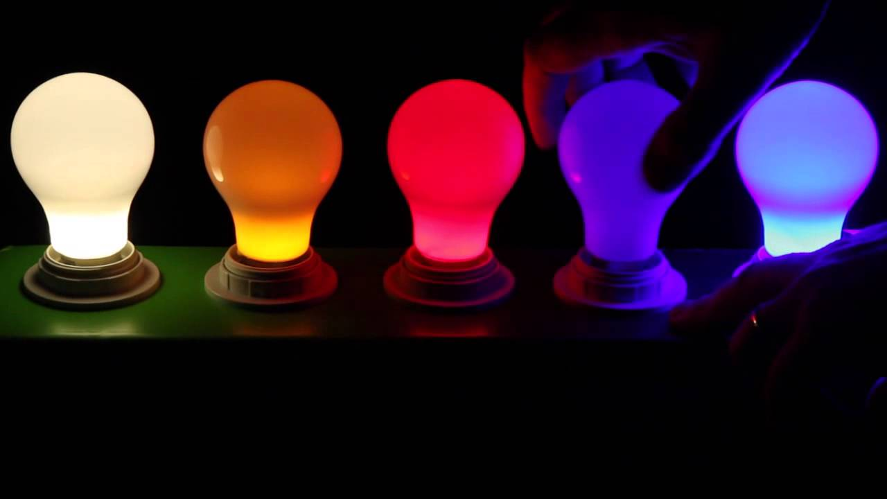 Colored LED Light Bulbs At 1000Bulbs.com   YouTube Design