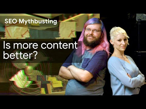 In the sixth episode of SEO Mythbusting season 2, Martin Splitt (Developer Advocate, Google) and Lily Ray (SEO Director, Path Interactive) discuss if more content is always a good thing for SEO or not. (...)