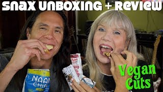 Vegan Snacks Unboxing & Mukbang