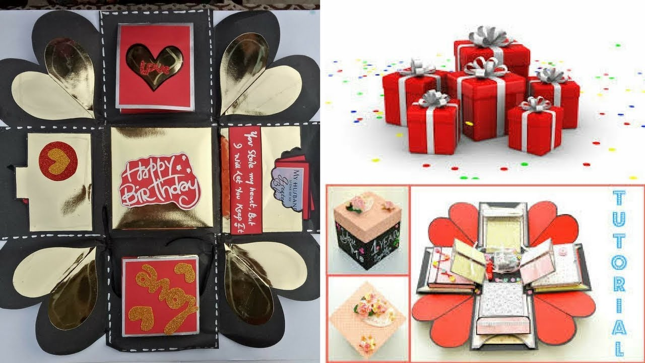 How To Make A Gift Box Step By Step Diy Gift Box Tutorial How To