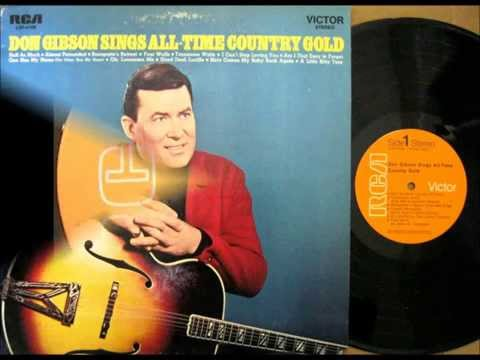 Oh Lonesome Me , Don Gibson , 1958 Vinyl