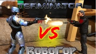 Repeat youtube video Robocop VS The Terminator STOP MOTION