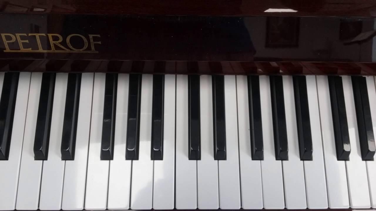 B Flat Chord Piano B flat Major Ch...