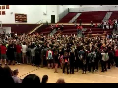 Lincoln high school pep rally