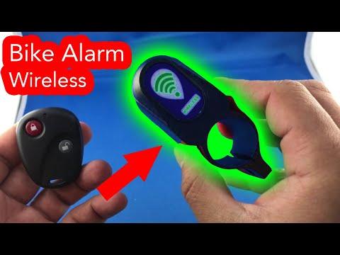 ✅ 4$ Anti Theft Bike Lock Alarm Wireless Unboxing from AliExpress haul
