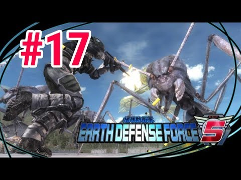 [Episode 17] Earth Defense Force 5 PS4 Gameplay [Smrter Choices] thumbnail