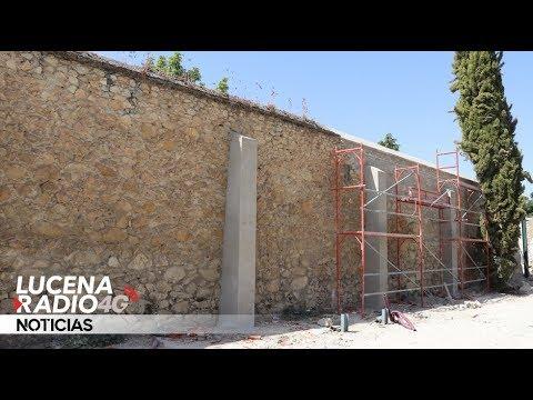 VÍDEO: A punto de finalizar los trabajos sobre el muro histórico de la Huerta del Carmen