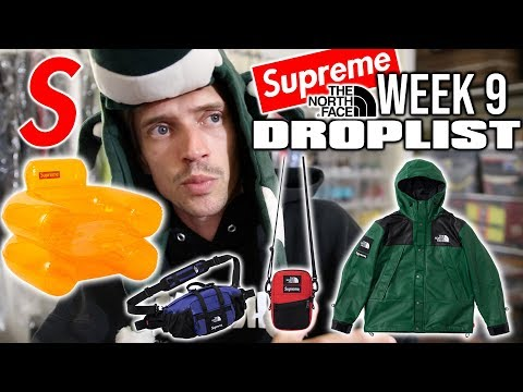 SUPREME x TNF THIS WEEK ! LEATHER GOODS & MORE FIRE !!