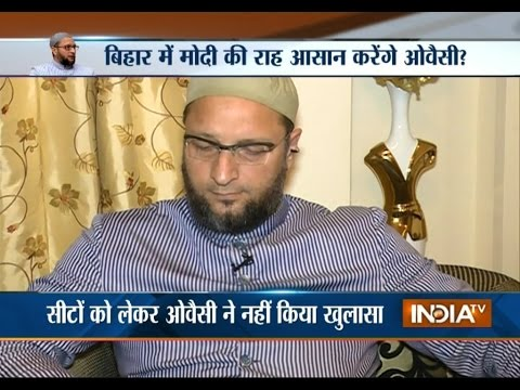 Bihar Poll: Asaduddin Owaisi to Prove a Blessing for BJP? - India TV