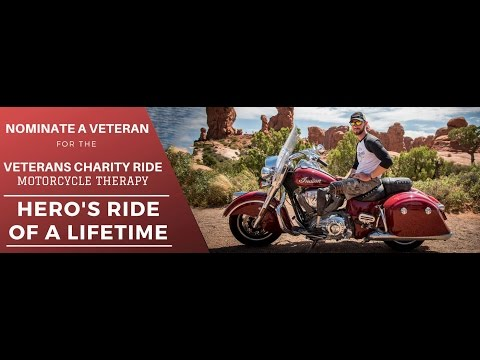 Hero's Ride of a Lifetime nominations NOW OPEN!