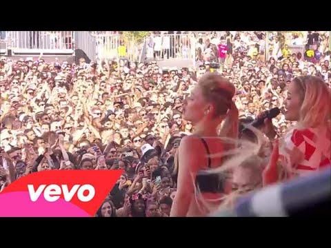 Iggy Azalea Feat Rita Ora - Black Widow (Live)