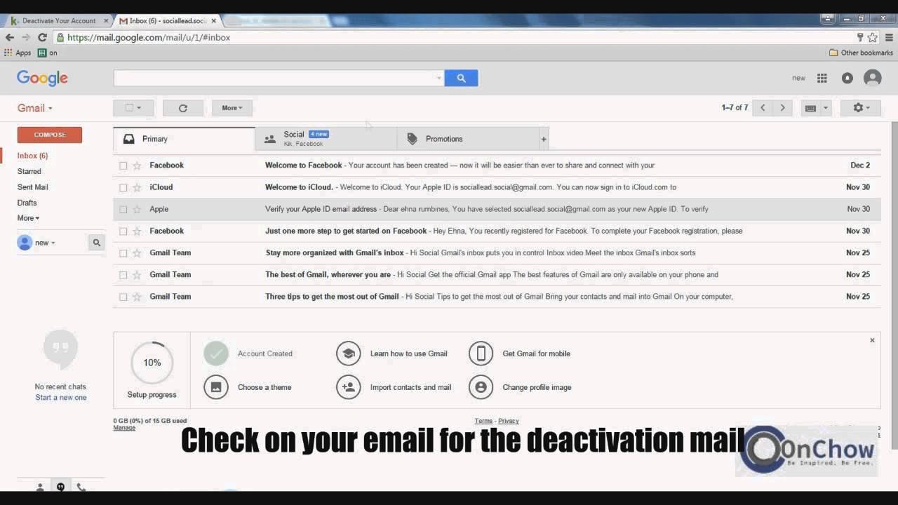 Gmail theme delete - How To Delete Kik Account Permanently