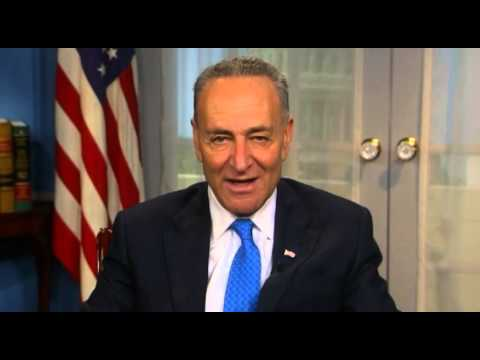 Sen  Schumer's message to Jim Kenyon
