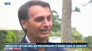 Haddad e Bolsonaro trocam farpas após decisão médica