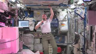 Space Station Astronaut Talks from Space with German Media