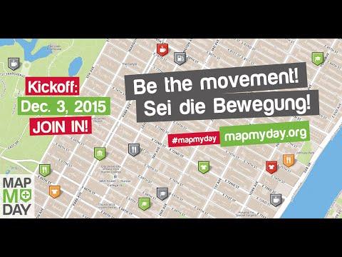 #MapMyDay - Weltweite Bewegung mit interaktivem Stadtplan für mehr Barrierefreiheit