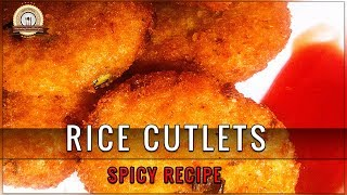 RICE CUTLETS/CUTLETS RECIPE | BY STUNNING FOOD RECIPES