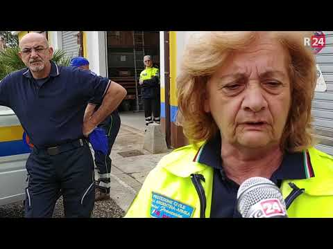Le telecamere di Striscia la Notizia a Taggia per il caso delle ex caserme Revelli