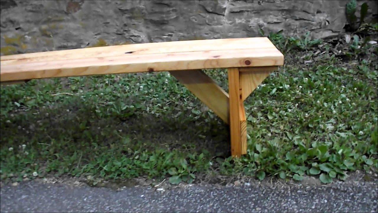 Homemade Reclaimed Wood Bench Starring Sophy Youtube