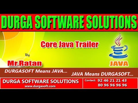 Corejava Trailer by Ratan