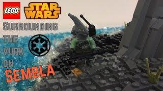 Surrounding the Vurk on Sembla   LEGO Star Wars Mini MOC #67