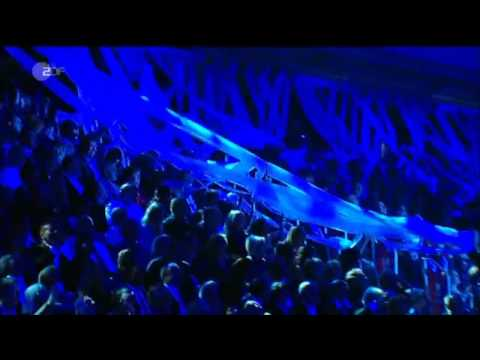 Blue Man Group @ WETTEN DASS..? Final with Zygotes (6-11-2010)