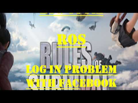 How To Fix  Rules Of Survival  Log In Problem With Facebook Cookies Alternate Method