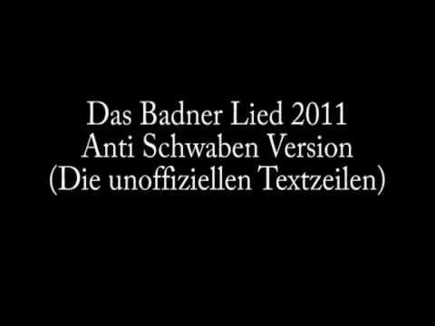 Gino Wild - Das Badnerlied (Anti Schwaben Version) (Unoffiziellen Strophen vom Badnerlied)