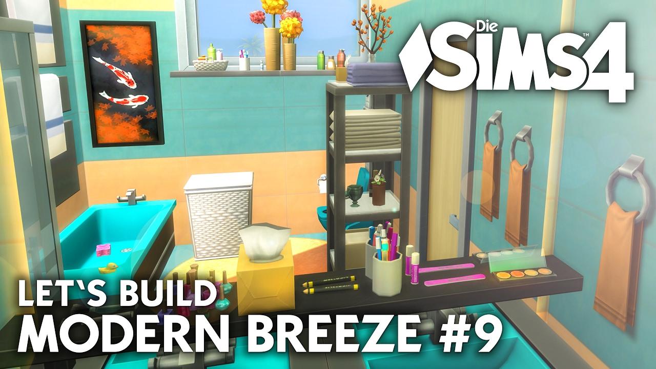 Die Sims 4 Haus bauen | Modern Breeze #9 - Let\'s Build (deutsch)