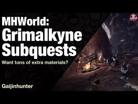 Monster Hunter World: Grimalkyne Subquests [Read Desc] thumbnail