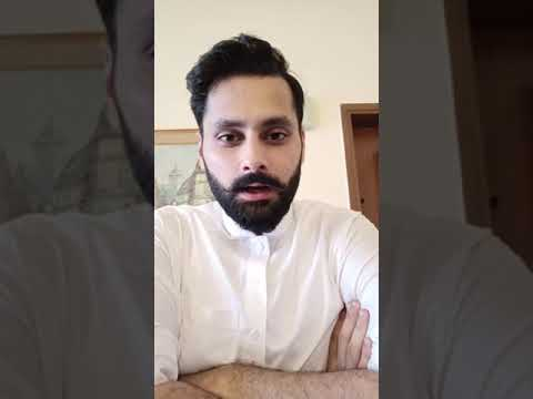 Jibran Nasir publicly declares his assets and liablities Election 2018