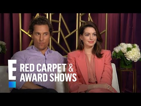 Anne Hathaway & Matthew McConaughey Play 'Co-Star Confidential' | E! Red Carpet & Award Shows