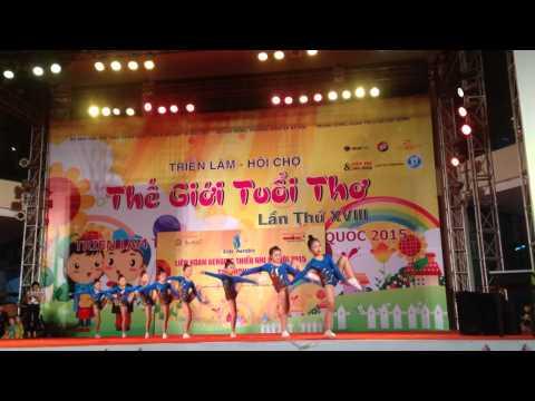 Giải aerobic thiếu nhi Hà Nội 2015 - chung kết - Đội 10-10