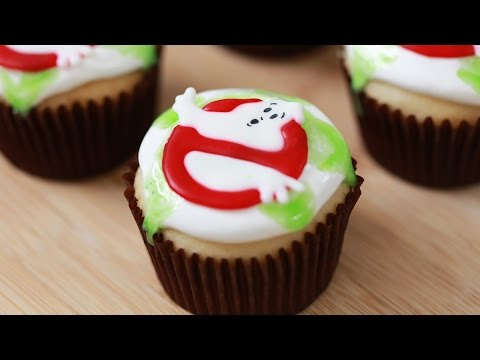 Save GHOSTBUSTERS SLIME CUPCAKES - NERDY NUMMIES Images