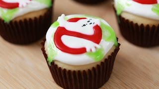 GHOSTBUSTERS SLIME CUPCAKES - NERDY NUMMIES Thumbnail