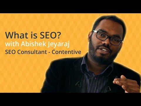 SEO - Abishek Jeyaraj (SEO Consultant at Contentive)