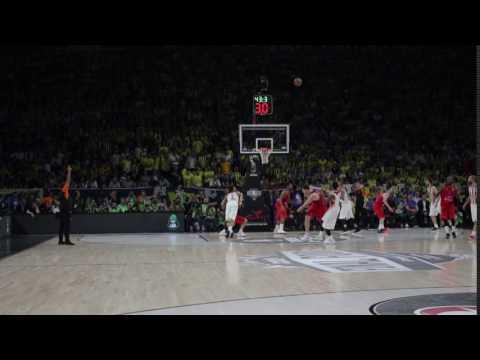 Green last minute vs CSKA, Final FourΕurohoops