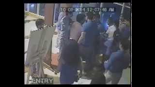 Club Rhino Gurgaon Bouncer CCTV Footage-1