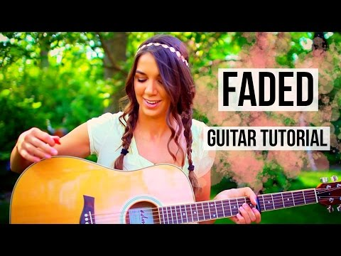 Faded - Alan Walker // Fingerpicking + Strumming Guitar Tutorial